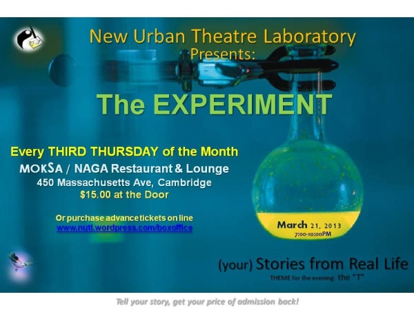 The Experiment March Edition